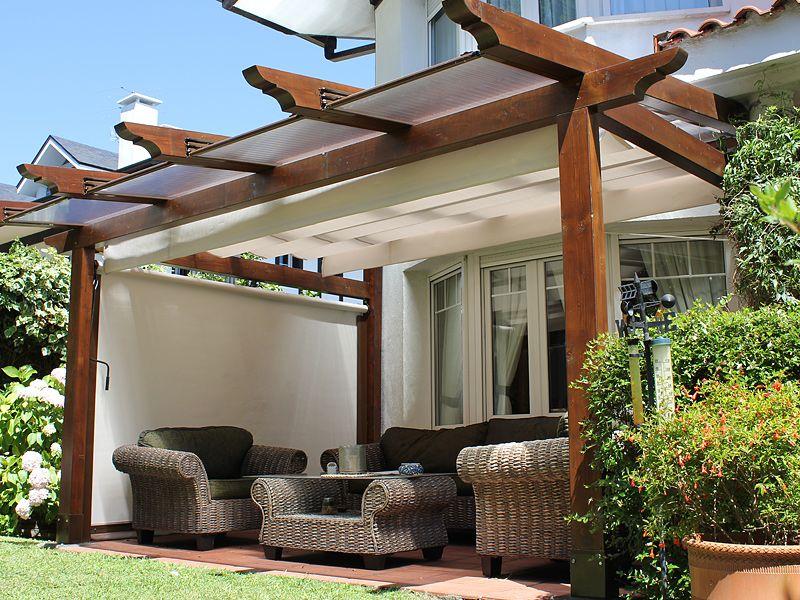 Madeira luxor productos for Diseno techos para terrazas